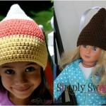 Candy Corn or Kiss Beanie
